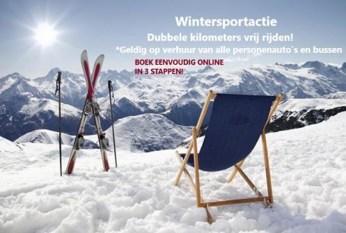 Auto huren Wintersport Hoogeveen